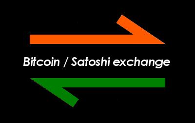 Utilities: Bitcoin / Satoshi Exchange