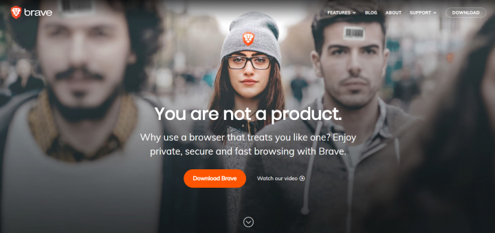 Brave Browser: CryptoAddicted uses a different browser